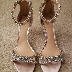 Caroline Jewel Badgely Mischka heels, Sz 10
